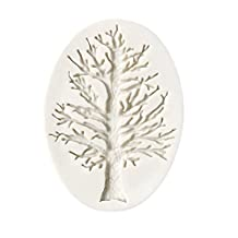 Tree Branch Silicone Cake Fondant Mold Cake Decorating Mould Baking Tool By Delaman