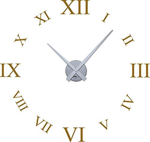 Grazdesign 800378si092 Wandtattoo Uhr Mit Uhrwerk Wanduhr Für