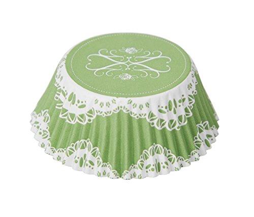 Fox Run 7165 Elegant Foil Disposable Bake Cups, 3 x 3 x 1.5 inches, Multicolored