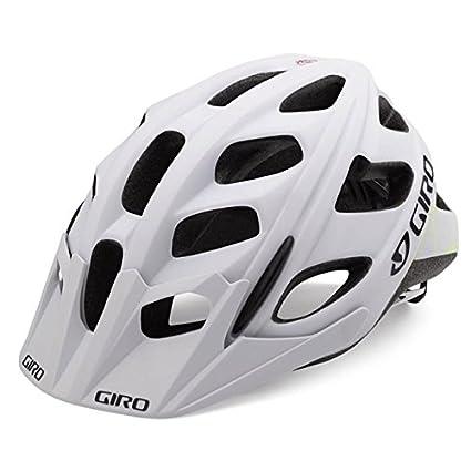 Matte White//Lime Large Giro Hex MTB Helmet