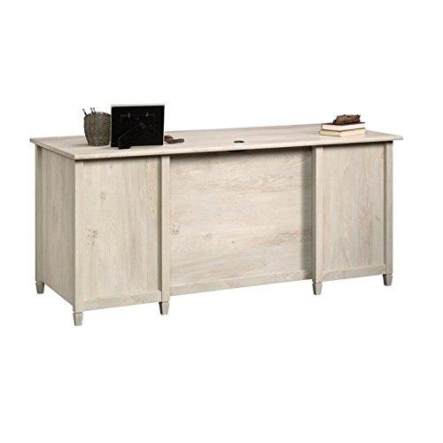 Sauder Edge Water Executive Desk in Chalked Chestnut