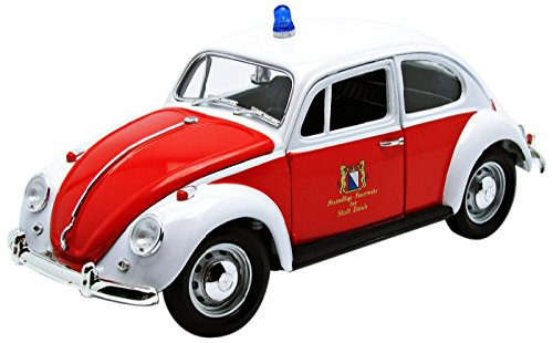 GreenLight 1:18 1967 Volkswagen Beetle Zurich Switzerland Fire Department