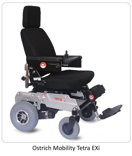 c77dae2debb Buy Ostrich Mobility Tetra - Exi Electric Wheel Chair Online at Low Prices  in India - Amazon.in