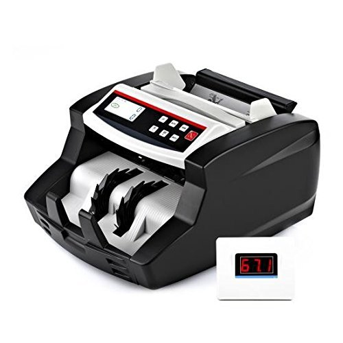 Bill Counters Office Supplies UV & MG Counterfeit Detection Pyle ...
