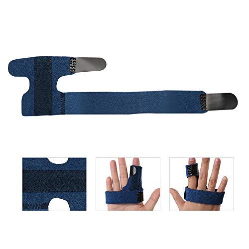 Verstellbarer Fingerschiene, Finger Korrekturschiene für Fingerfixierung, Schmerzlinderung, Finger Knuckle und...