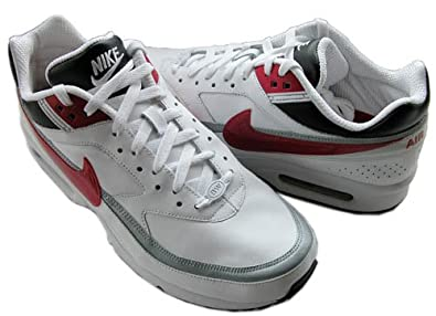 pretty nice c1da7 bc18b Nike Air Max 90 Essential - Running Shoes, Color Red (Gym Net White