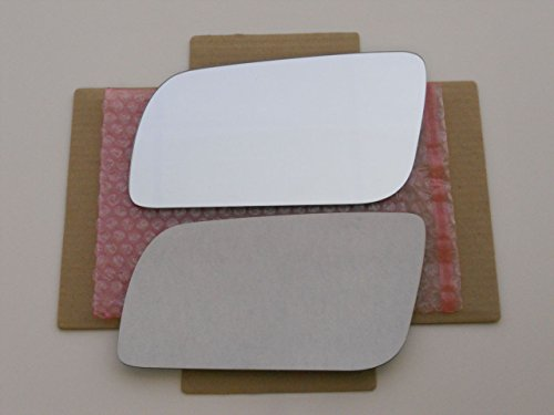 - New Replacement Mirror Glass with FULL SIZE ADHESIVE for BLAZER SUBURBAN JIMMY YUKON Driver Side View Left LH