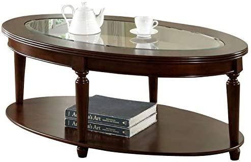 BOWERY HILL Oval Coffee Table - a good cheap living room table