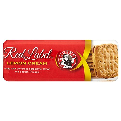 Bakers Red Label Lemon Creams Biscuits (200g) - Pack of 2