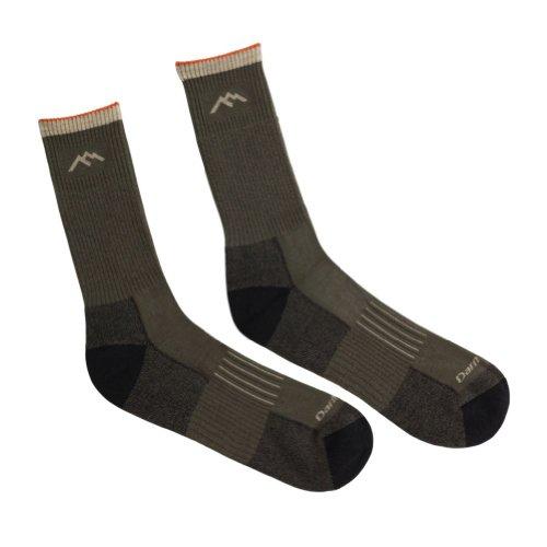 Darn Tough Men's Merino Wool Hunter Scent Lok Boot Sock Cushion Charcoal