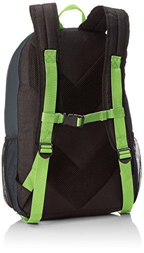 Hummel Unisex Rucksack Authentic Dark Slate/Green Flash
