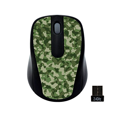 Computer Gear Mouse (Gear Head Wireless Optical Nano Mouse, Camouflage (MP2120CMO))