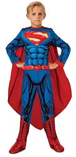 Rubies DC Universe Superman Costume, Child Small (Business Man Costume For Girls)