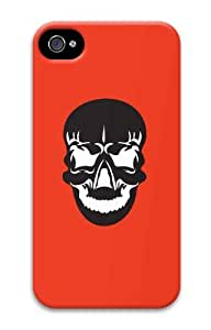 Hot iPhone 4S 3D Customized Unique Print Design Skulls Set6 New Fashion iPhone 4/4S Cases