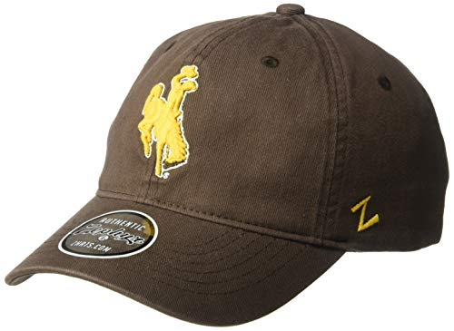 Zephyr Wyoming Cowboys Official NCAA Scholarship Adjustable Hat Cap 315149, Team Color, 8 oz, Single Hat, (1)