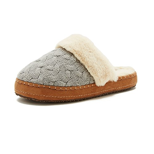 Nautica Womens Claxton Slipper Grey Gd58W