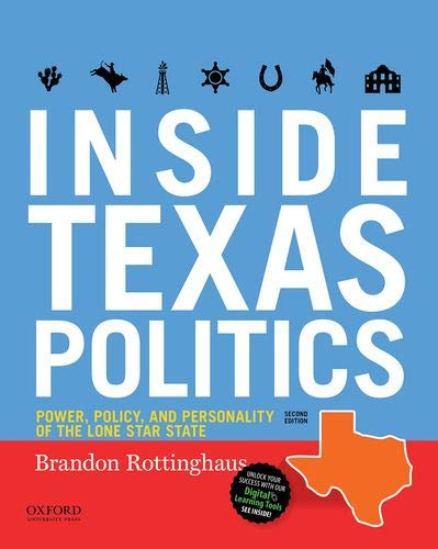 Inside Texas Politics: Power, Policy, and Personality of the Lone Star State