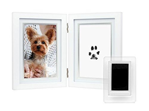 (Pearhead 83017 Paw Prints Pet Dog/Cat Keepsake Desk Photo Frame)
