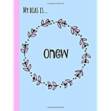 My bias is...Onew: SHINee,Fan,Gifts,Kpop Journal, Notebook,Diary,Lined Paper,Composition book,Merchandise,unofficial: Use for Journalling,album for photo cards,School,Girl,women,teens