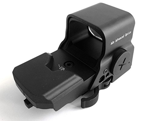 Ade-Advanced-Optics-Crusader-8-Reticle-Green-and-Red-Dot-Reflex-Sight-with-QD-Mount-Black