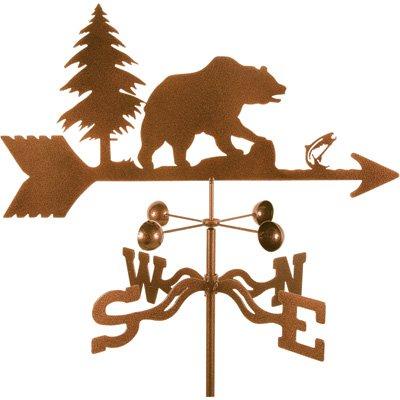 Garden Mount Weathervane - Bear, Model # (Bear Weathervane)
