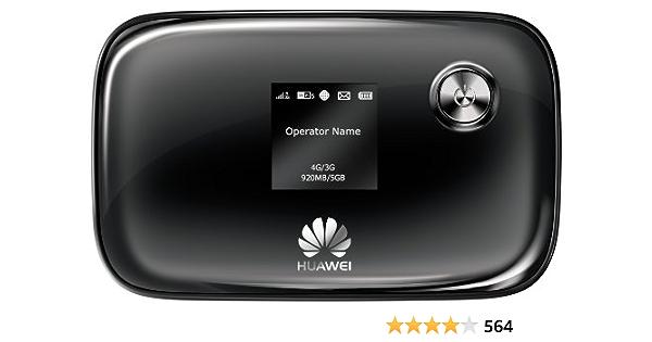 Huawei E5776 - Dispositivo de internet móvil (150 Mbit/s, 3G, 4G, EDGE, GPRS, GSM, HSDPA), negro