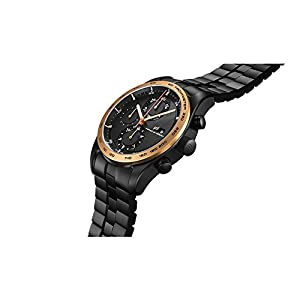 Reloj Automático Porsche Design Chronotimer Series 1, Oro rosa 18Kt, Negro 2