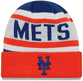 save off 91783 4cd12 ... closeout amazon mlb new york mets biggest fan 2.0 cuff knit beanie one  size orange sports