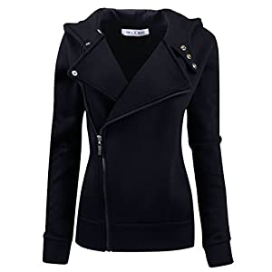 Tom's Ware Women Slim fit Zip-up Hoodie Jacket