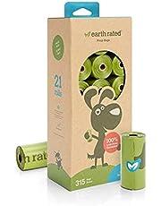 Jordklassad - 21 x 15 Eco Poop Bags - Luktfri - 1 bit
