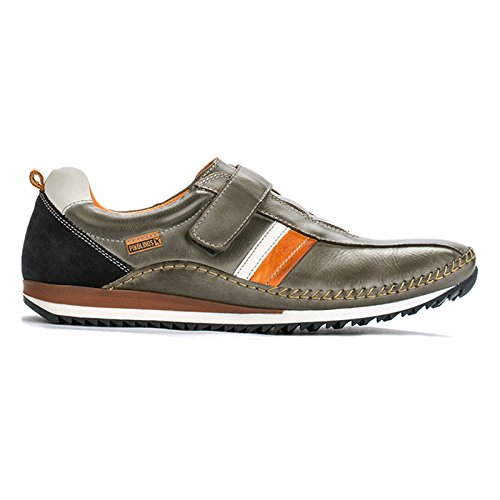 Pikolinos Mens Liverpool M2A-6089 Leather Shoes Dark Grey