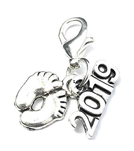 Christening Gift 925/Sterling Silver Curb Chain 1.3/mm Length: Approx Gods Blessing to wherever you go childrens Guardian Angel Pendant Necklace /Ø 12/mm 36/cm Christening Gift