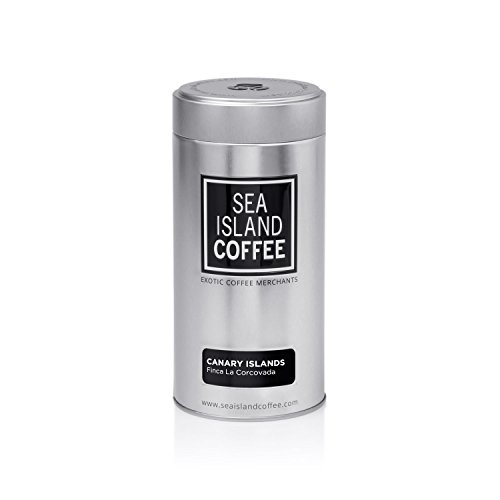 Finca La Corcovada, Canary Islands Coffee - Whole Bean Coffee 250g (8.8 oz) Tin