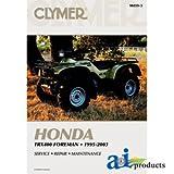 honda 2000 parts - A&I - CLYMER ATV MANUAL - HONDA (1995-2003). PART NO: A-M459-3