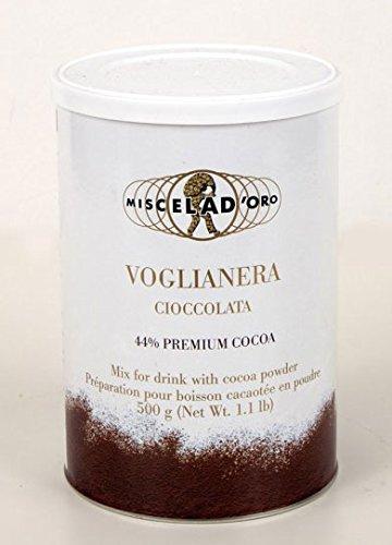 Miscela D'oro Voglianera Italian Cocoa Powder [1.1 Lb (Italian Hot Chocolate)