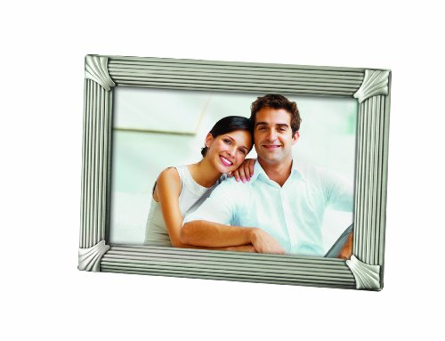 PRINZ Canton 4 by 6-Inch Pewter Metal Frame -  - picture-frames, bedroom-decor, bedroom - 419qz0iEJiL -