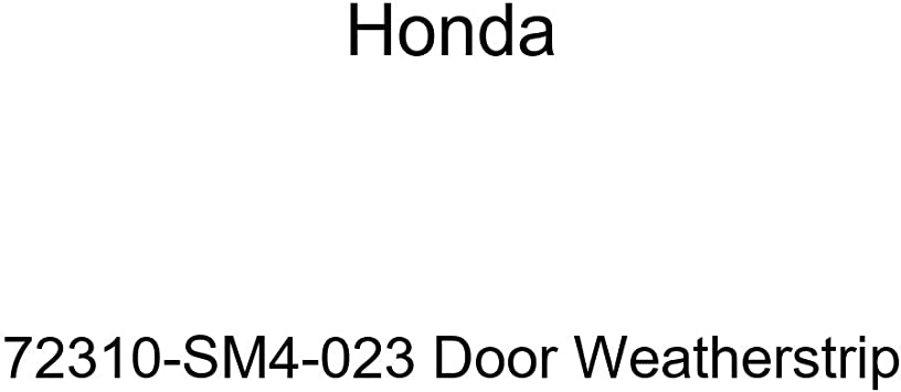 Honda Genuine 72310-SM4-023 Door Weatherstrip