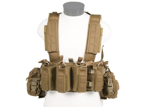 Tactical Assault Gear Intrepid Chest Rig w/Grenade & Mag Pouches - Multicam ICR1-MC by Tactical Assault Gear