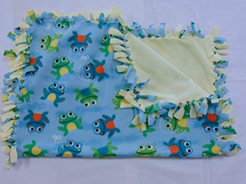 Baby Blanket Frogs by Captivating Crafts