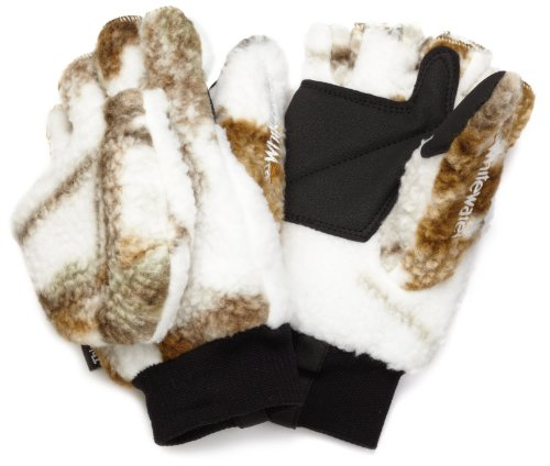 Whitewater Men's Sherpa Glo-Mitt (Realtree All Purpose Snow, (Glo Fleece Gloves)