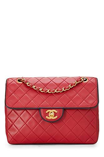 Red Chanel Handbag - 8