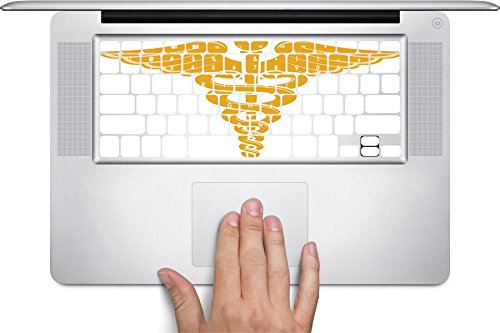 Medical Symbol Macbook Keyboard Decals (Fits 11, 13, 15 inch Air/Pro/Retina)