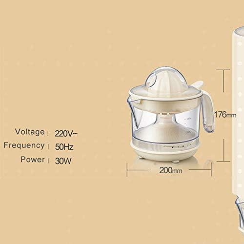 Spremiagrumi Spremiagrumi Elettrico Argento Spremiagrumi Elettrico Potente 30w Estrattore Spremiagrumi/Spremiagrumi con Beccuccio Antigoccia