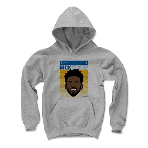 500 LEVEL Golden State Basketball Youth Hoodie - Kids X-Large Gray - Nick Young Fade B