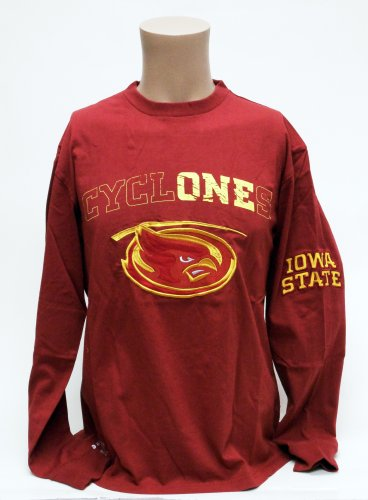 Iowa Embroidered Long Sleeve - 4