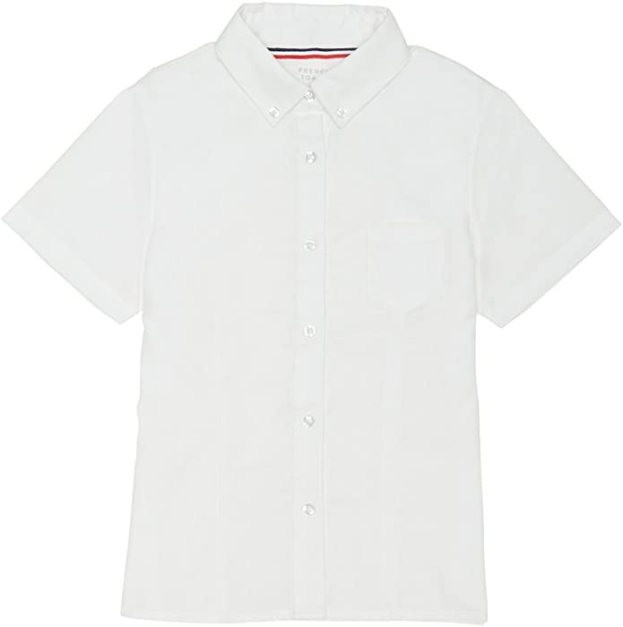 277a772d23d Amazon.com  French Toast Junior s Short Sleeve Oxford Shirt