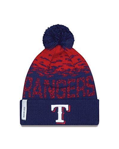 MLB Texas Rangers Headwear, Scarlet/Navy, One Size