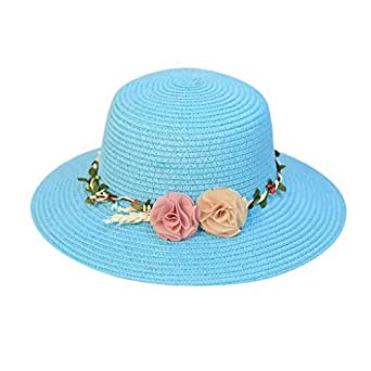 63cceef1e39b4 Vectry Sombreros Mujer Sombrero Vaquero Sombrero Mujer Sombreros Boda  Pamelas Y Sombreros Sombrero De Pescador Sombrero De Vaquero Sombrero  Azul1  ...