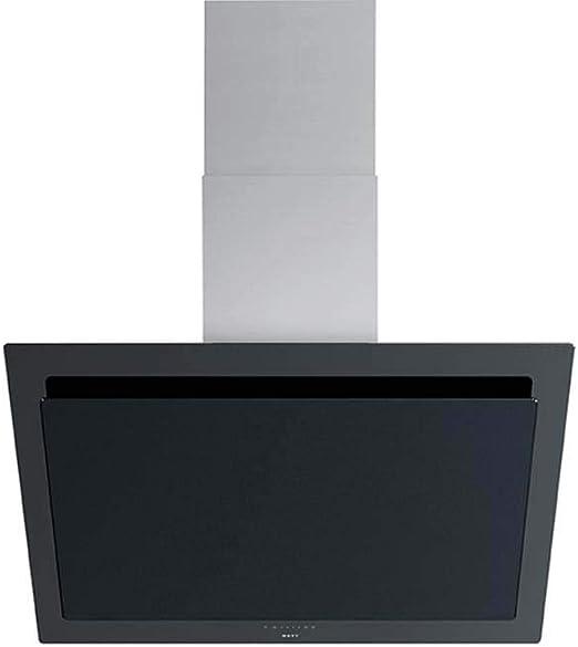 NOVY 7830/1 De pared Negro, Acero inoxidable 808m³/h A+ - Campana (808 m³/h, Canalizado, A, A, C, 51 dB): Amazon.es: Hogar