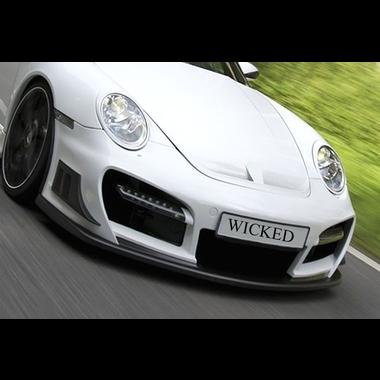 Porsche 997 TechArt GT Street R Style Front Bumper for 997 Turbo & Carrera